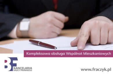 Wspólnoty Mieszkaniowe - Radca Prawny Kraków