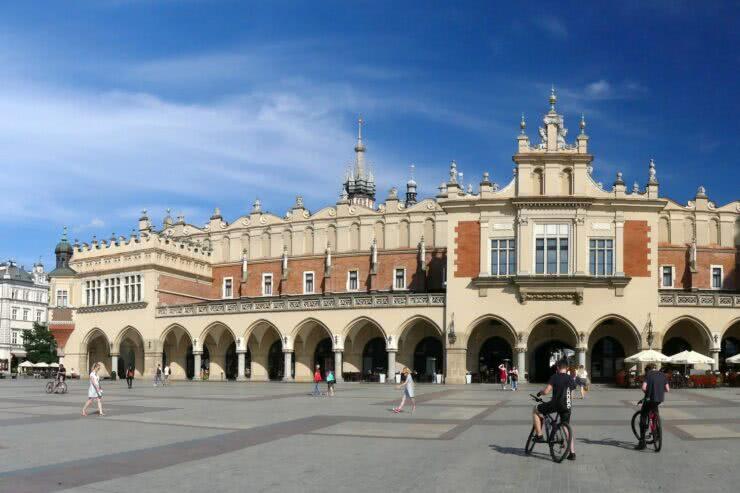 Kraków Sukiennice Rynek
