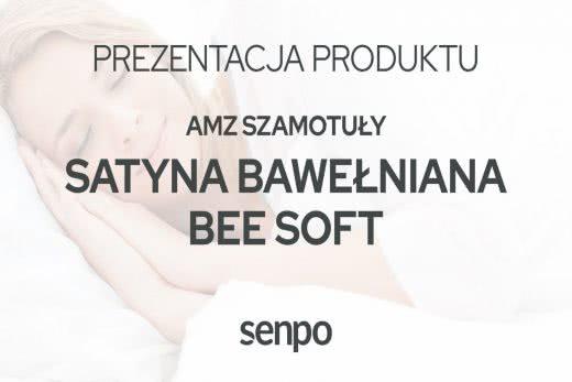 AMZ Satyna Bawełniana BEE SOFT
