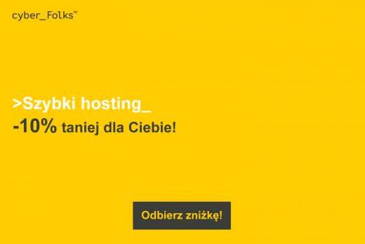 Hosting WWW Serwery Cyber Folks